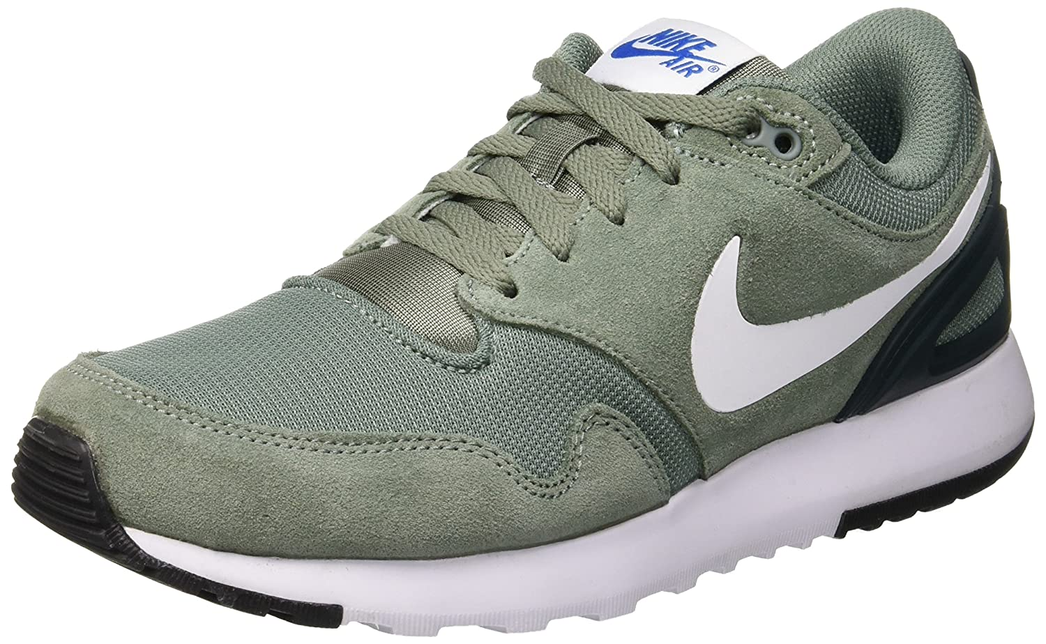 Nike Herren Air Vibenna Gymnastikschuhe, Black/Anthracite-Sail, Eu  47.5 EU|Schwarz (Clay Green/White/Deep Jungle/Blue Nebula 301)