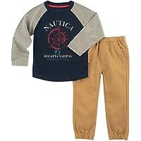 Nautica Sets (KHQ) (RJ7QG) Kids and Baby 2 Pieces Tee Pants