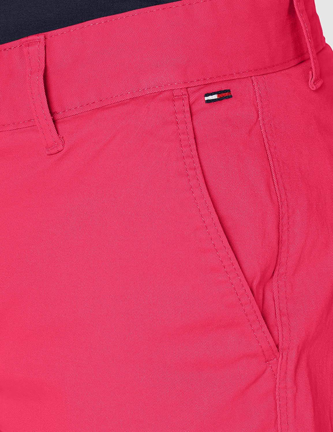 Tommy Jeans TJM Essential Chino Shorts voor heren Roze (Bright Cerise Pink T1k)