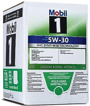 Mobil 1 ESP 5W30 Bag-In-Box 154274 Aceite para Motor: Amazon.es: Coche y moto