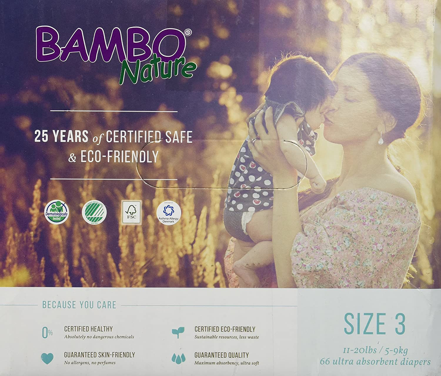 Bambo Nature Maxi Baby Diapers