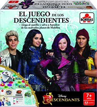 Educa Borrás-peliculas y TV Descendants, Juego de Mesa 16529: Amazon.es: Juguetes y juegos