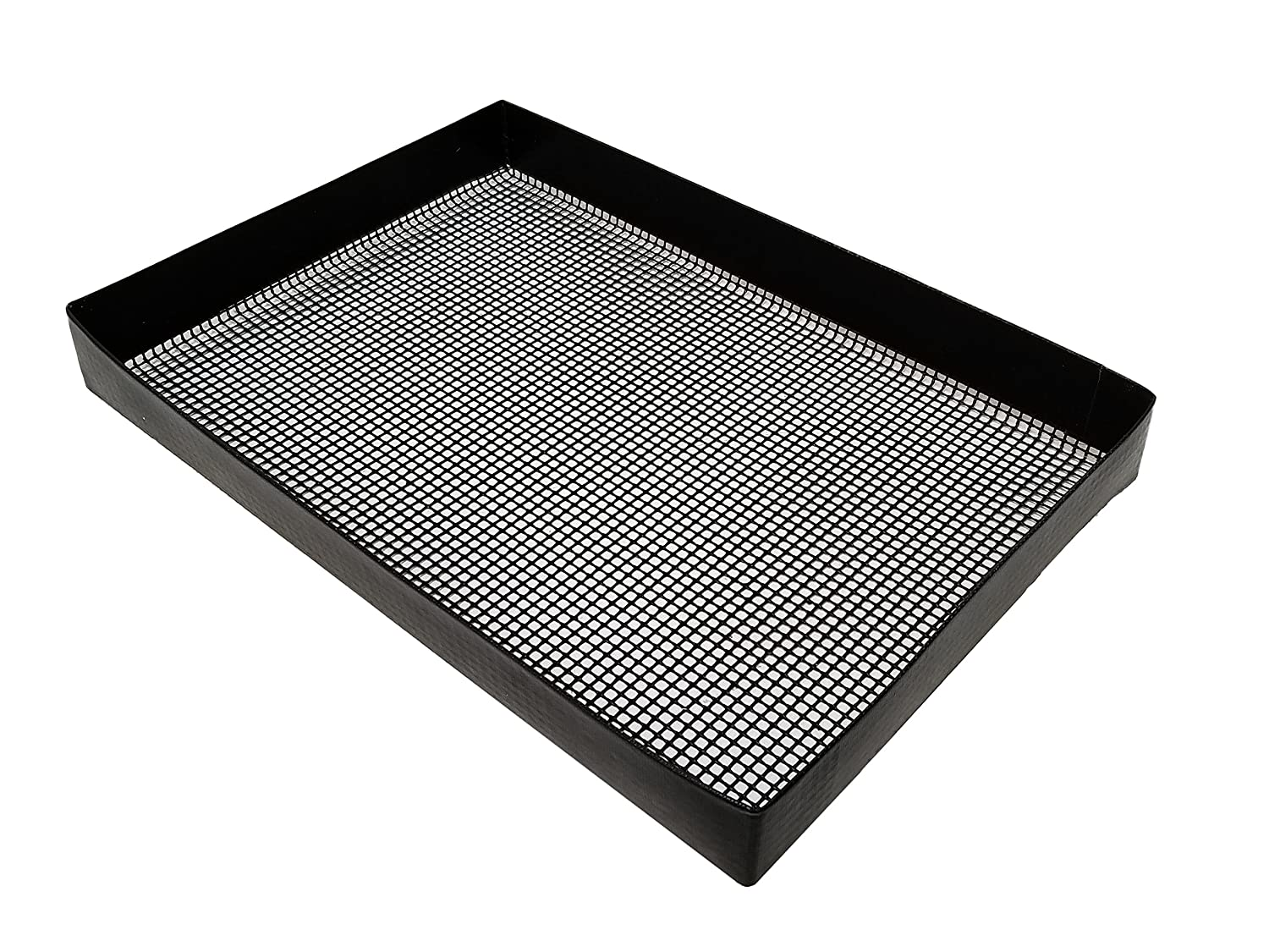 """10"""" x 14.375"""" x 1.5"""" PTFE Wide Mesh Oven basket for TurboChef, Merrychef, and Amana, and Amana, can also be used in smokers and grills"""