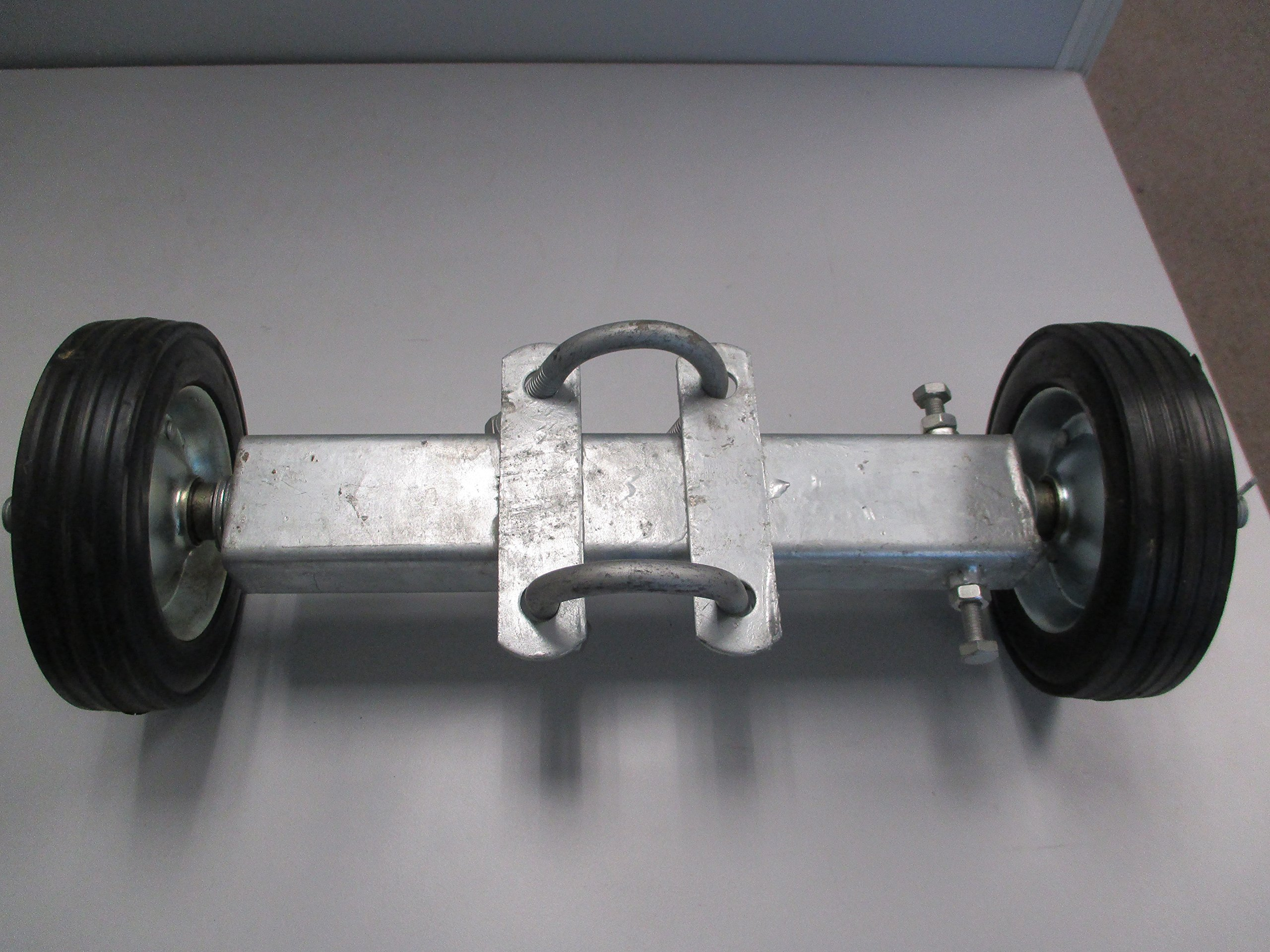 6'' ROLLING GATE CARRIER WHEELS: for chain link fence rolling gates - rut runner