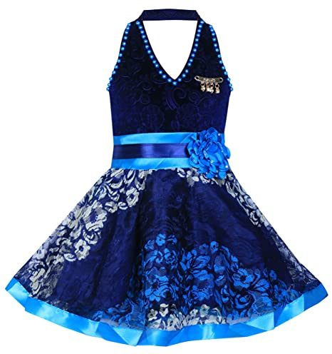 MPC Cute Fashion Kids Girls Baby Dress for Princess Velvet and Soft Net Frock Dress for Girls' Dresses & Jumpsuits at amazon