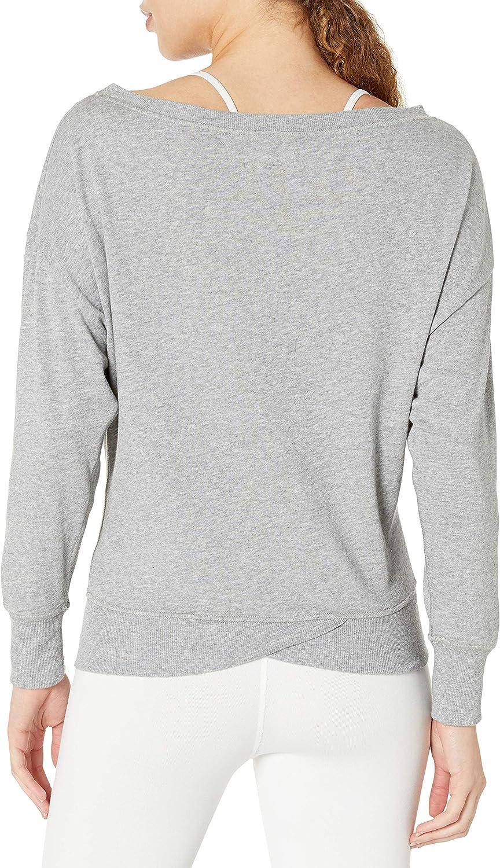 IST Womens French Terry Boat Neck Sweatshirt X 2