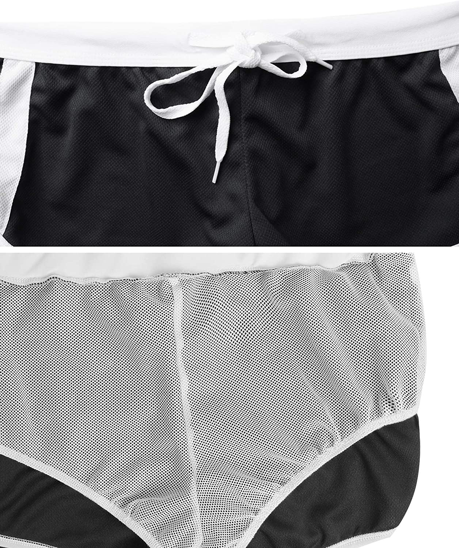 Homme Boxer Trunks Shorts Pantalon Maillot de Bain Court de Sport Plage Mer Loisir