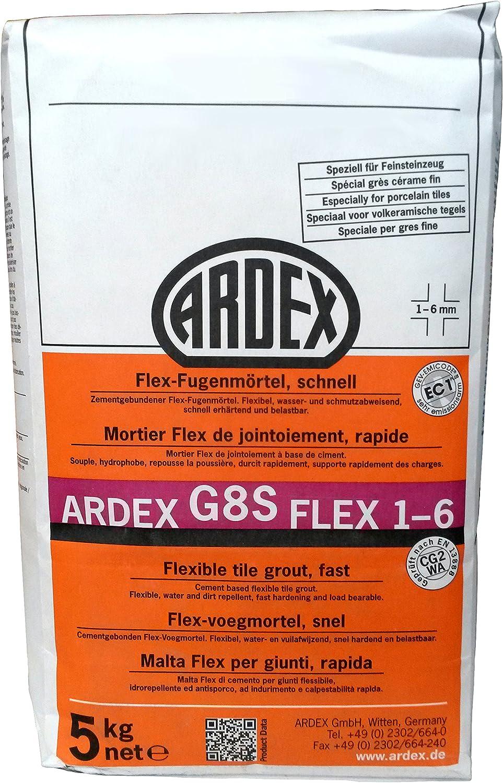 couleur Basalte rapide erh/ärtend et charge maximale 6/mm 5/kg Ardex G8S Flex de mortier de Joint 1