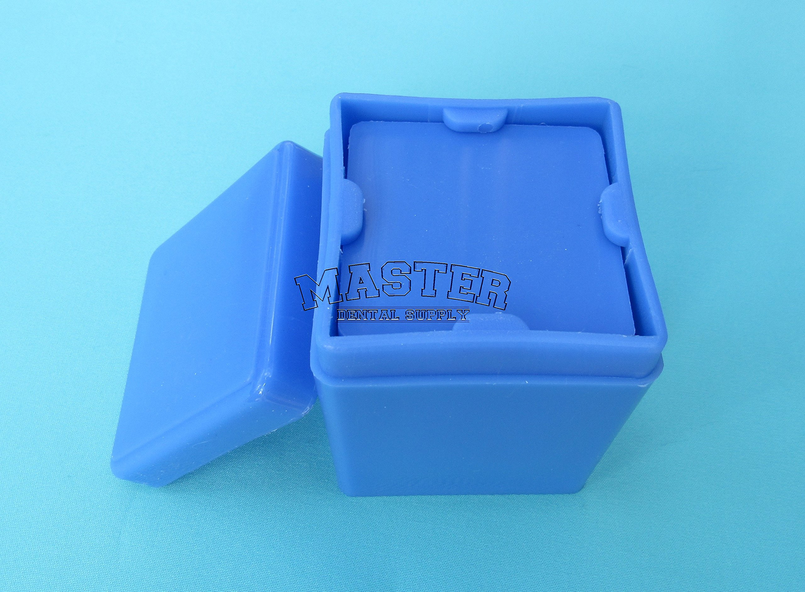 1 Dental Gauze Dispenser BLUE 2'' X 2'' Sponge Pads Holder