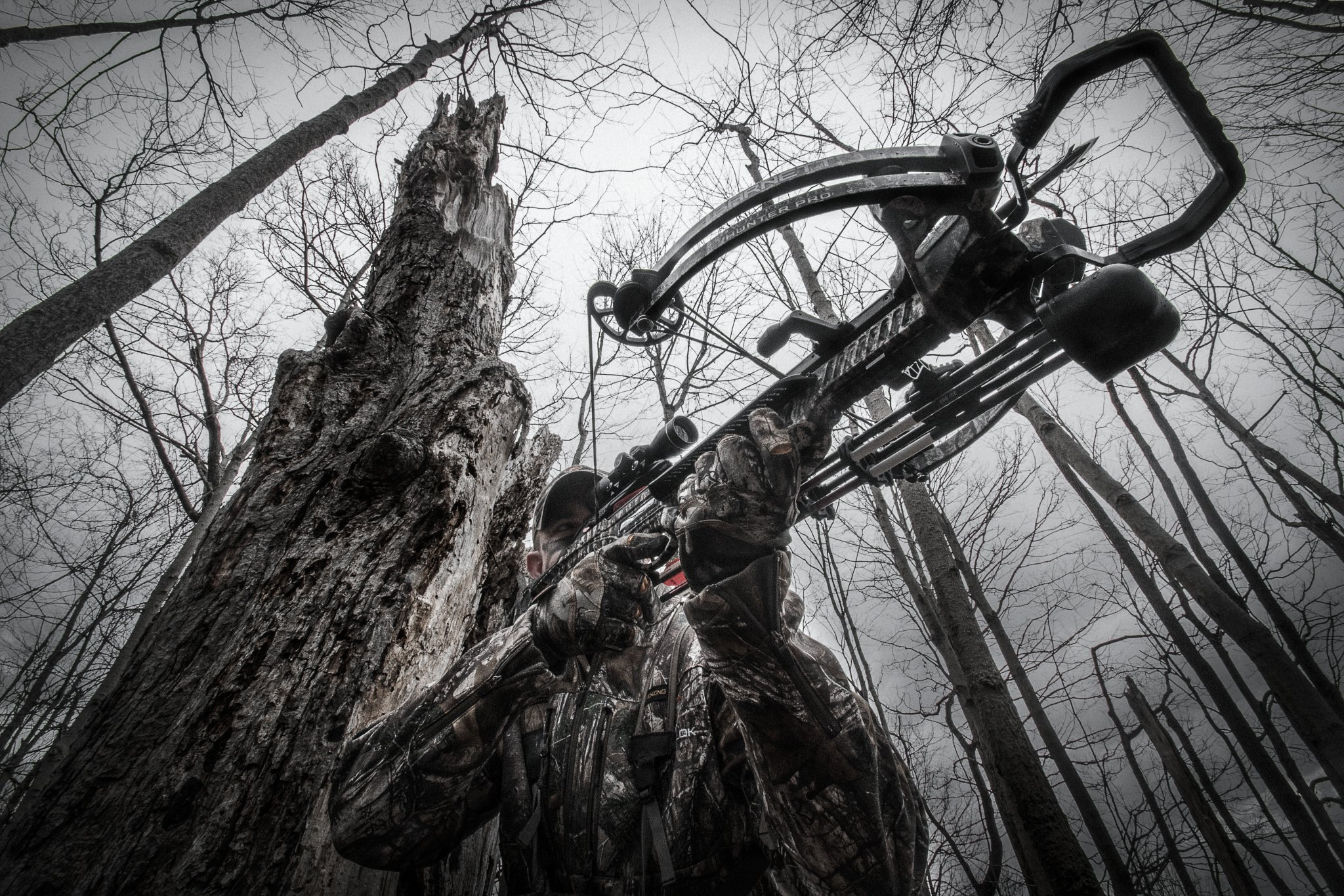 Barnett Whitetail Hunter Pro Crossbow, 380 FPS, Trubark Camo by Barnett (Image #3)