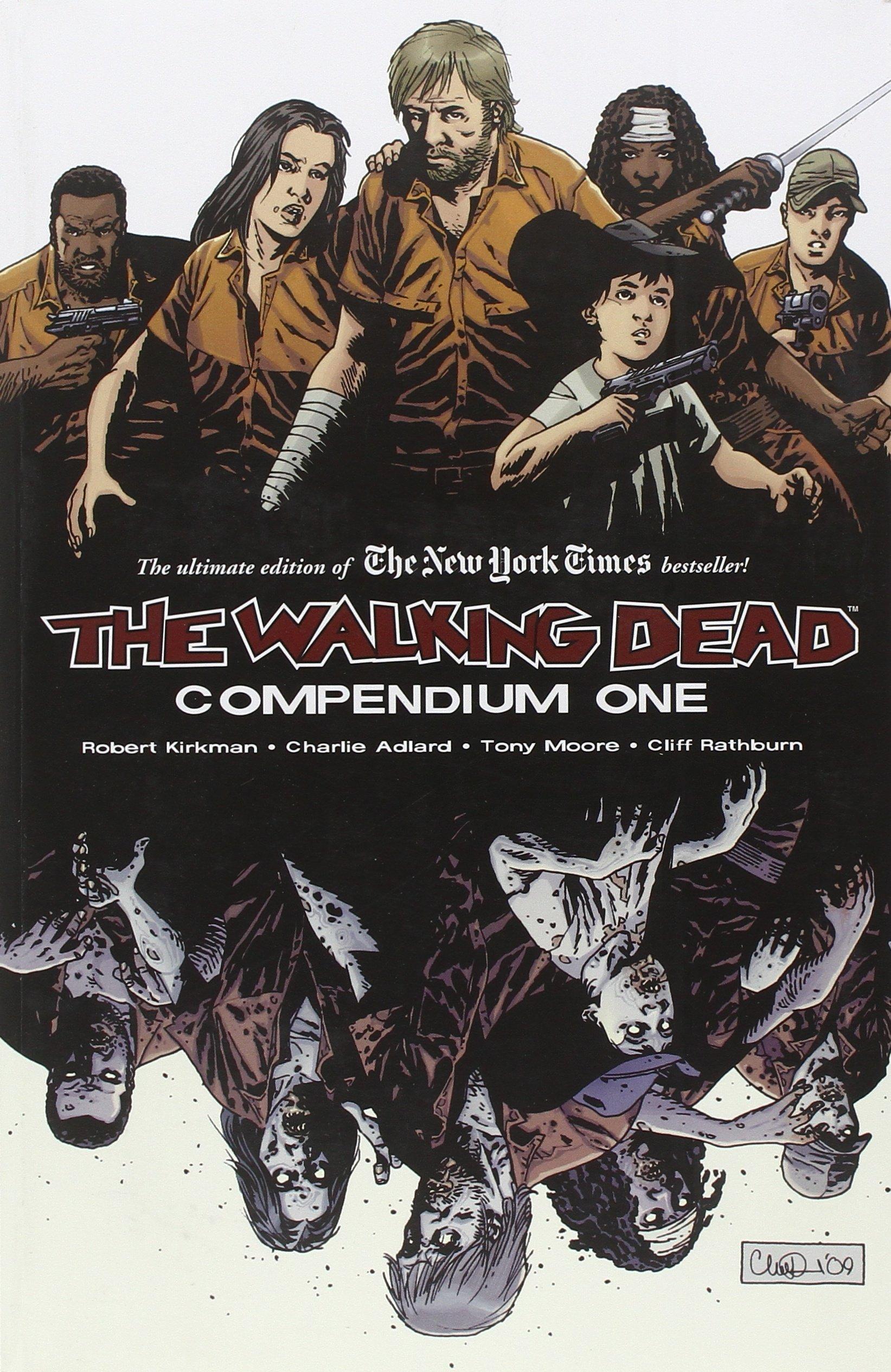 The Walking Dead Compendium Volume 1 01 Amazon Co Uk Kirkman Robert Adlard Charlie Rathburn Cliff 8580001039817 Books