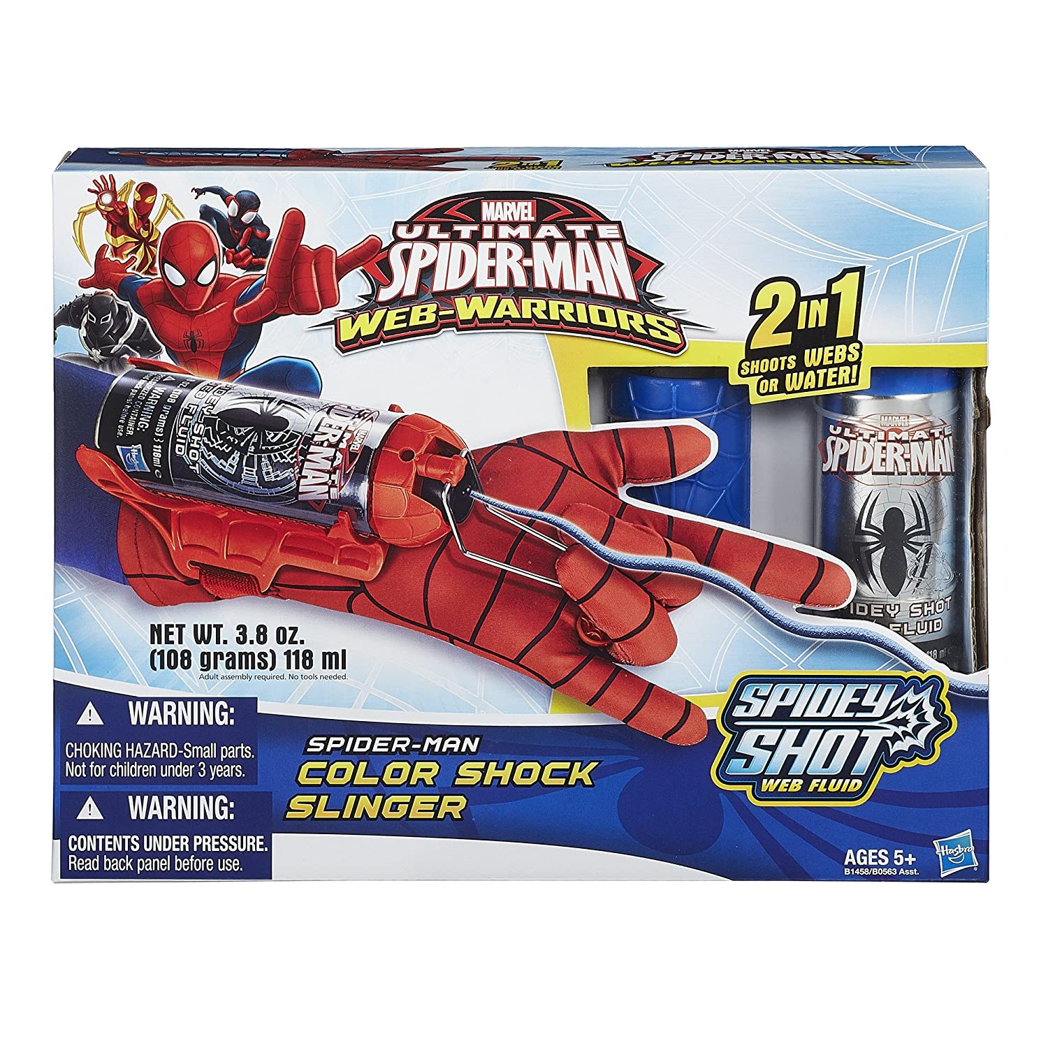 amazon com marvel ultimate spider man web warriors spider man