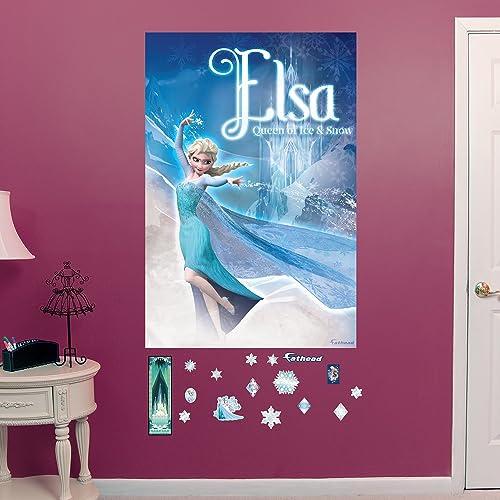 Snow Queen Elsa Mural