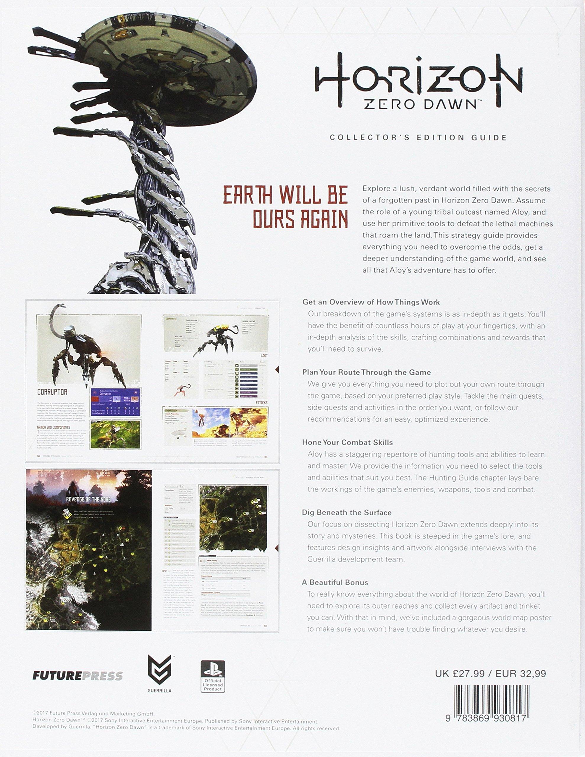 Horizon zero dawn collectors edition guide livros na amazon brasil horizon zero dawn collectors edition guide livros na amazon brasil 9783869930817 fandeluxe Image collections