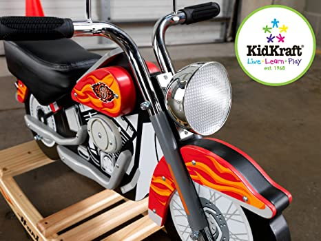 Good Amazon.com: KidKraft Harley Davidson Roaring Softail Rocker: Toys U0026 Games