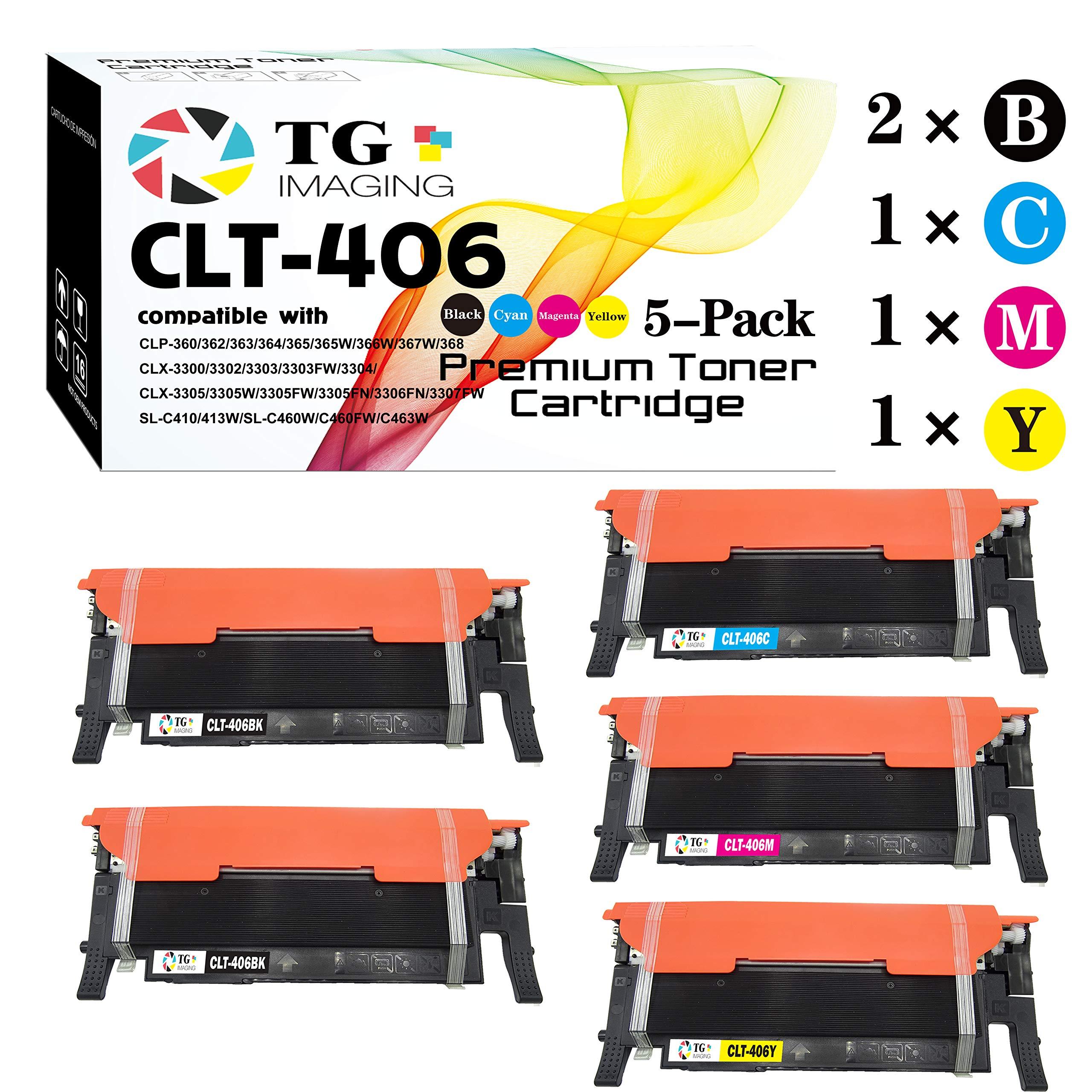 Toner Alternativo ( X5 ) 4 Colores 406s CLT-406S CLX-3300...