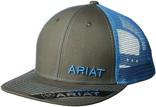 8d79bb83 Ariat Men's Mesh Snap Back Hat