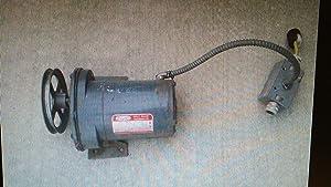 Dayton 1LPP4 AC Gearmotor 115 Nameplate RPM 30 Max. Torque 400.0 in.-lb. Enclosure ODP