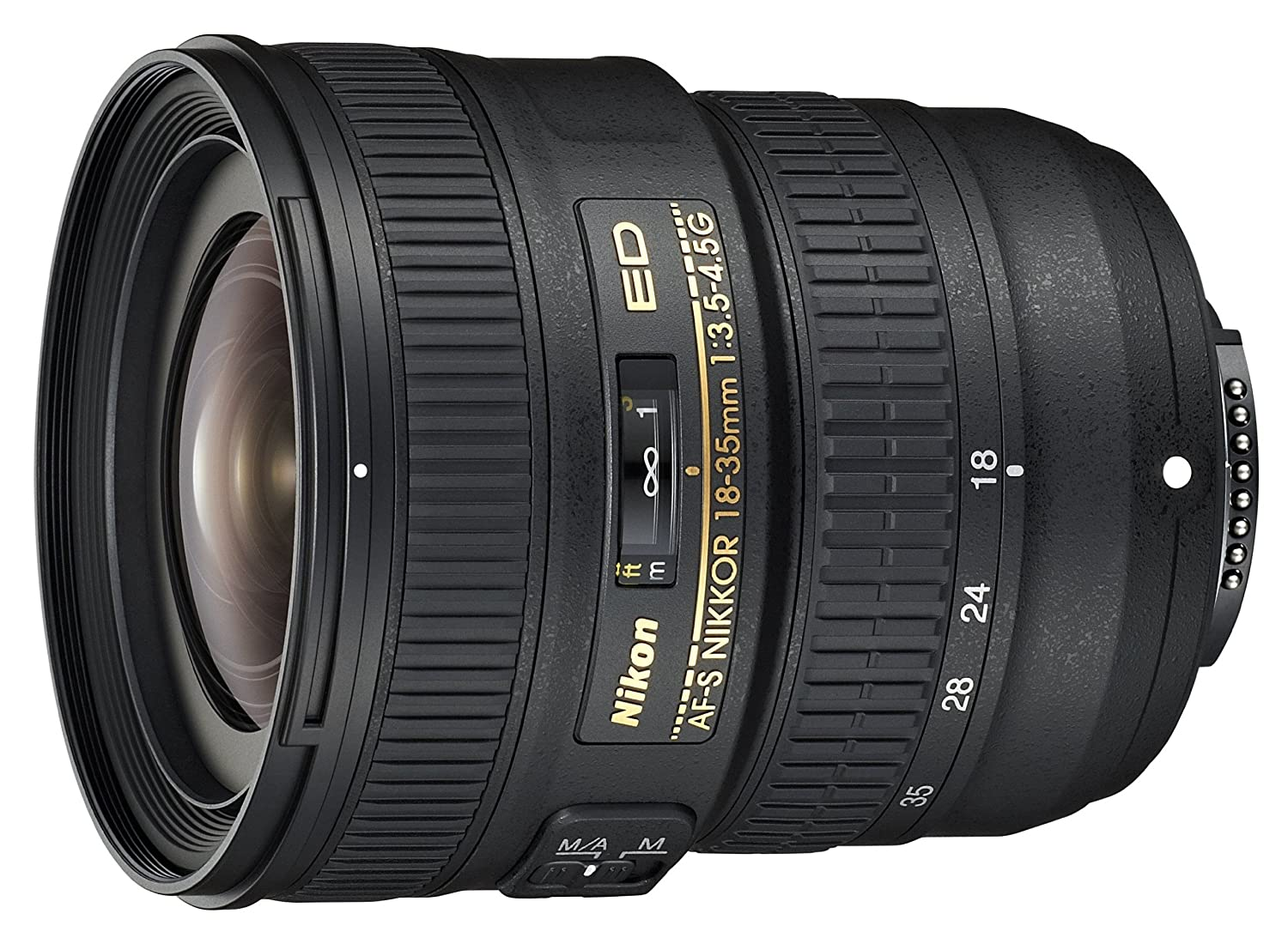 Amazon.com : Nikon AF-S FX NIKKOR 18-35mm f/3.5-4.5G ED Zoom Lens ...