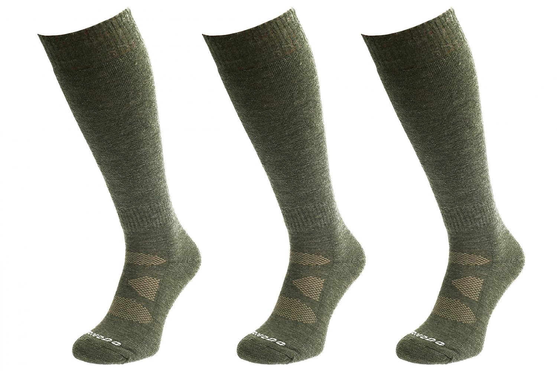 Comodo HUN2 - Set de 3 Calcetines DE Caza Largo