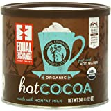 Equal Exchange Organic Hot Cocoa Mix, 12-Ounce Tins (Pack of 3)