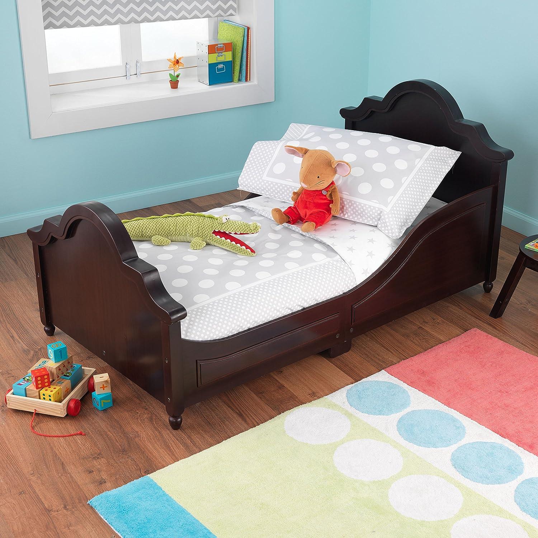 Amazon.com: KidKraft Toddler Spots And Dots Gray Bedding Set (4 Piece):  Toys U0026 Games