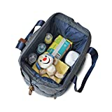 One Tree Premium Insulated Baby Diaper Backpack For Mom & Dad - Stylish, Durable & Ergonomic Bag For Toys, Snacks, Water Bottle & Accessories, Unisex Design With Comfortable Shoulder Straps