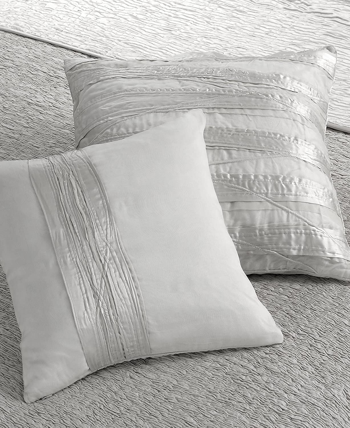 L Erba Private Sanctuary Decorative Pillow 20x20 White Stripes Home Kitchen