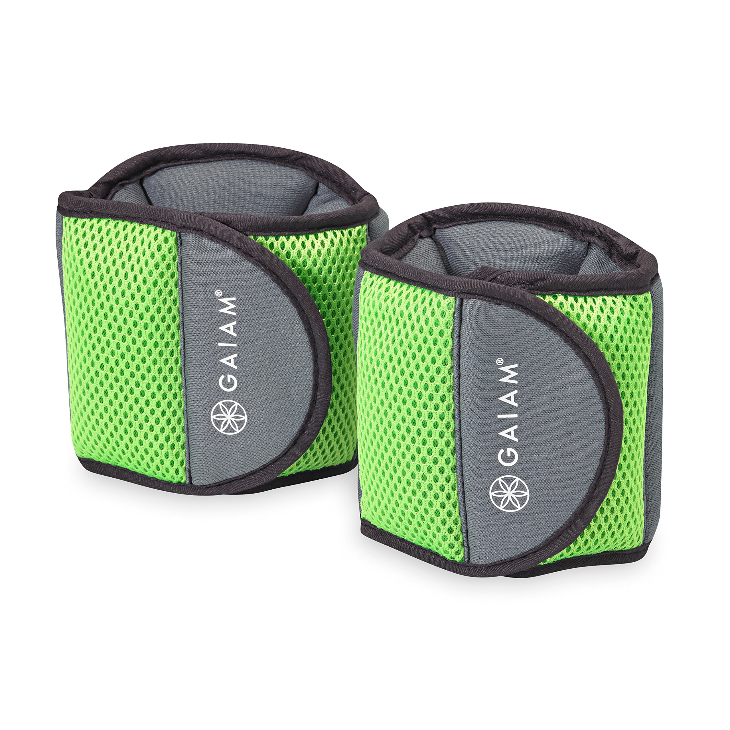 Gaiam Fitness Ankle Weights (5lb Set) by Gaiam