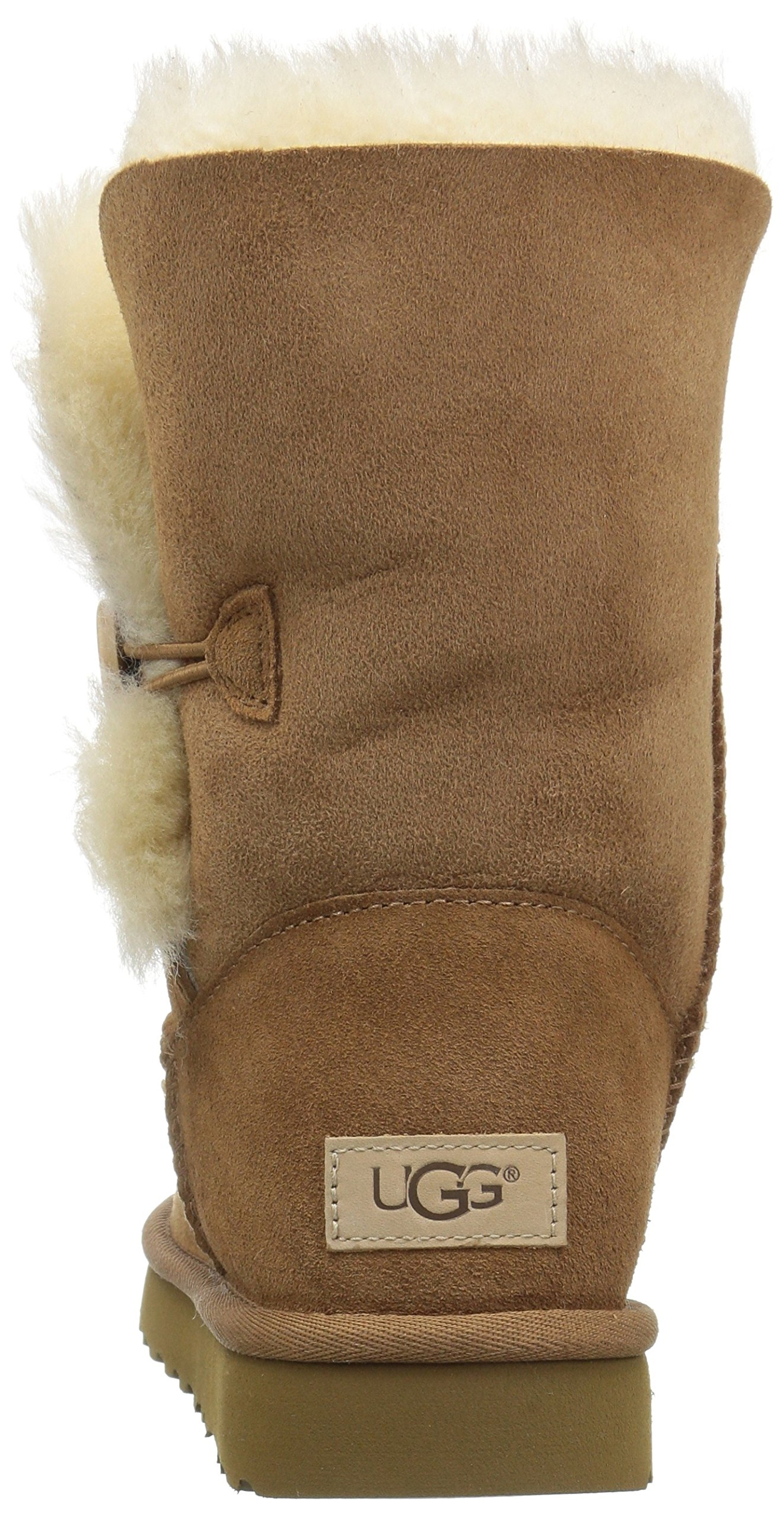 UGG Women's Bailey Button II Winter Boot, Chestnut, 8 B US by UGG (Image #2)
