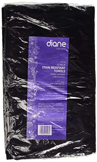 Amazon.com : Fromm Salon Element Towel, Black, 12 Count : Hair Drying Towels : Beauty
