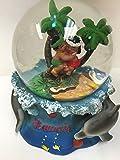 Cheifly Snow Globe Hula Boy and Gril Hawaiian