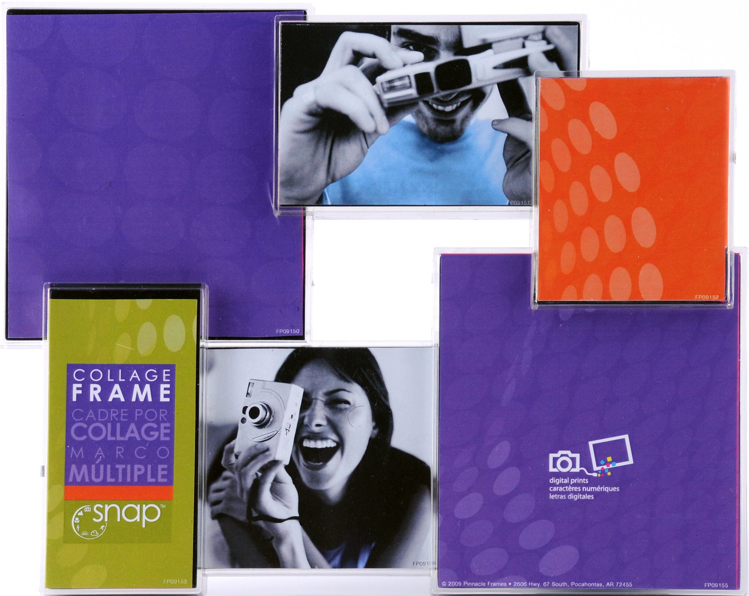 Snap 3D Collage Frame, 6-Openings