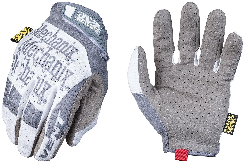 Medium, Grey//White Mechanix Wear Specialty Vent Work Gloves