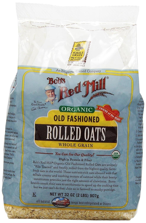 Bobs Red Mill - orgánica avena antigua - 32 oz.: Amazon.es: Alimentación y bebidas