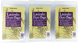 Trader Joes Lavender Dryer Bags (Pack of 3)
