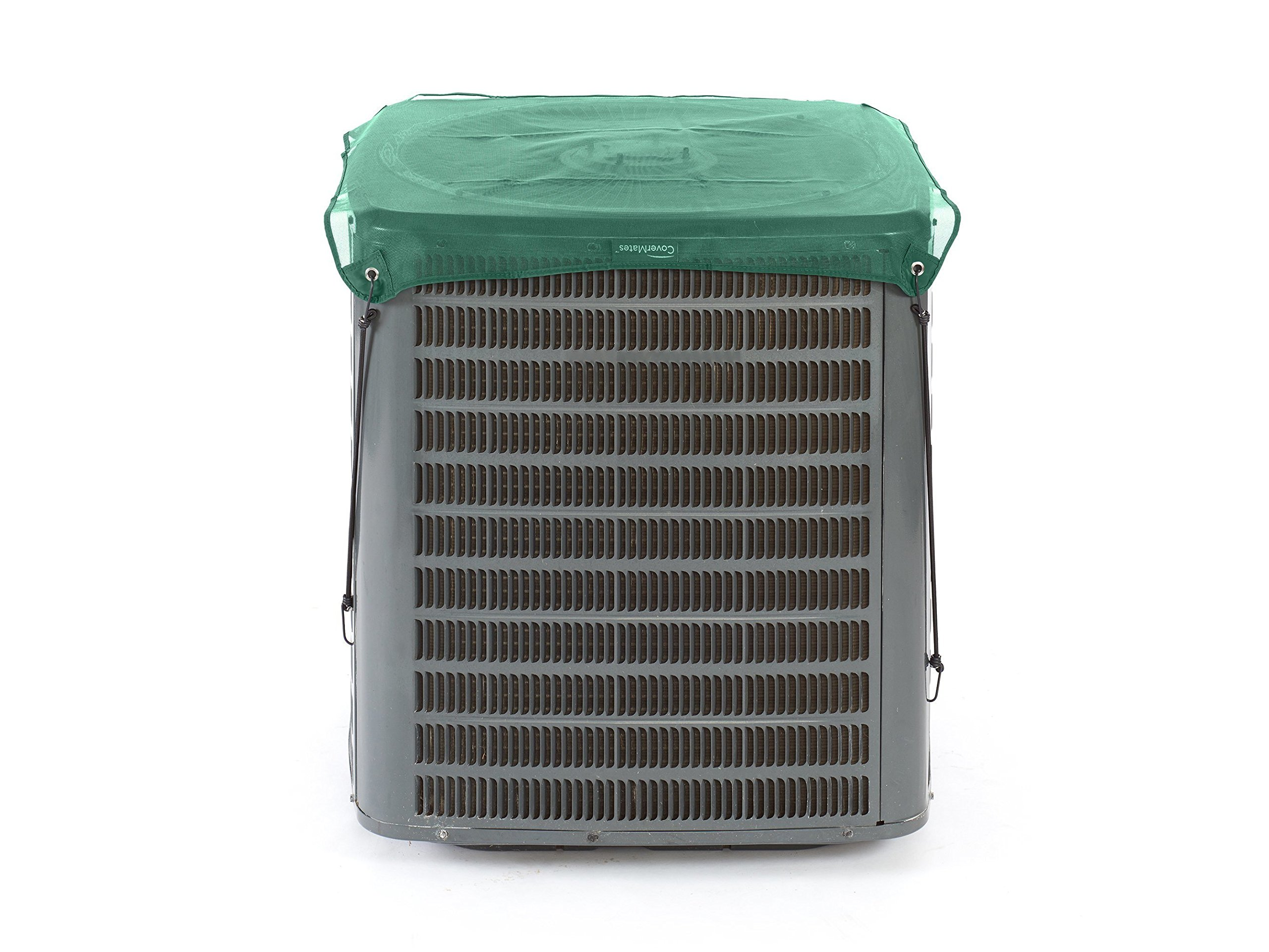 CoverMates - Mesh Top Cover - 24 Width x 24 Depth - Classic - Tight Mesh Design Blocks Debris from Entering - Year-Round Protection - 3X Reinforced Corners - 2 YR Warranty - Water Resistant - Green