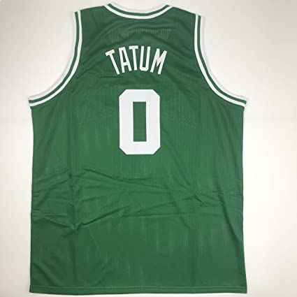 aae9d5a3af8 Unsigned Jayson Tatum Boston Green Custom Stitched Basketball Jersey Size  Men s XL New No Brands
