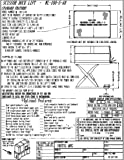 Vestil WL-100-5-48 Premium Truck Scissor Dock