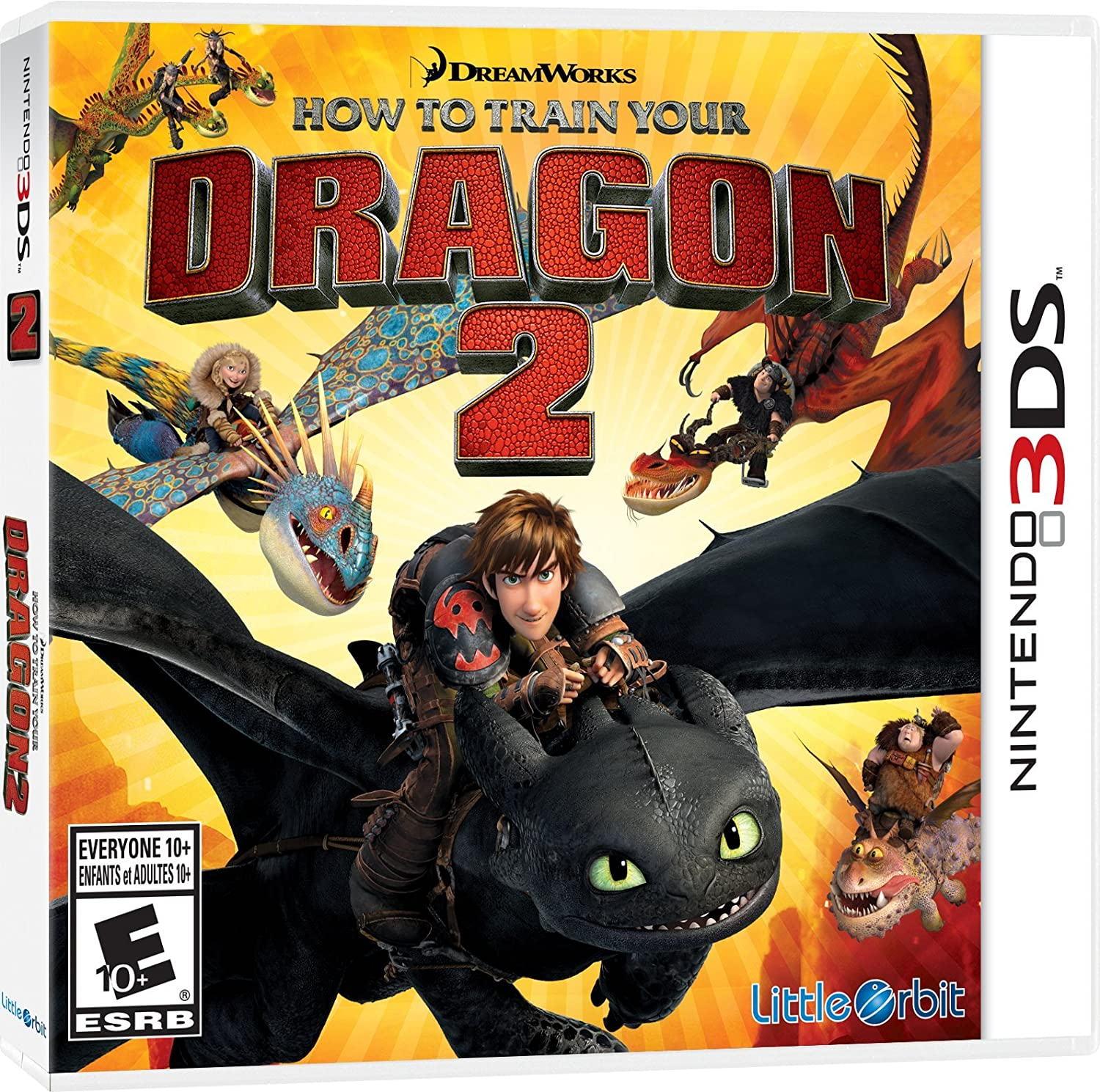 Amazon.com: How to Train Your Dragon 2: The Video Game - Wii U: nintendo  wii u: Solutions 2 Go Inc: Video Games