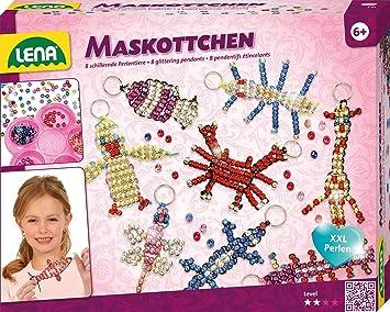 Lena 42690 Bastelset Für 8 Maskottchen Komplettset Mit 740