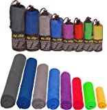 Microfibre Towel in ALL Sizes / 12 Colours + Bag – small, lightweight and ultra absorbent – Microfibre Travel Towel , Beach Towel, Micro Towel , Sport Towel , Large XL Gym Towel