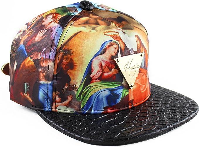 Hater Genesis Jesus Snakeskin Strapback Hat Gorra: Amazon.es: Ropa ...