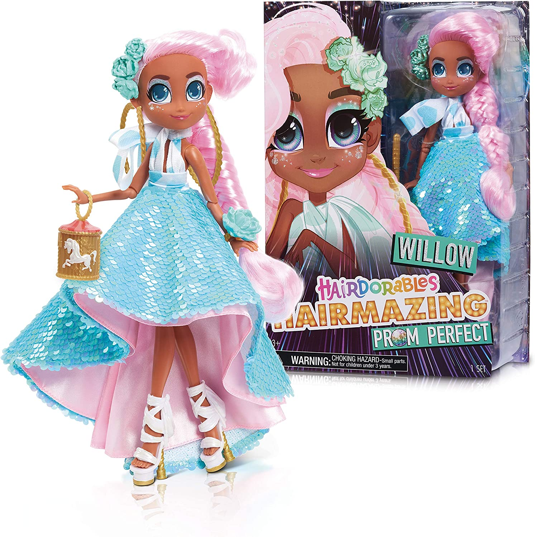 JP Hairdorables HAG01400 Hairdorables Hairmazing Fashion Doll Series 2-Willow