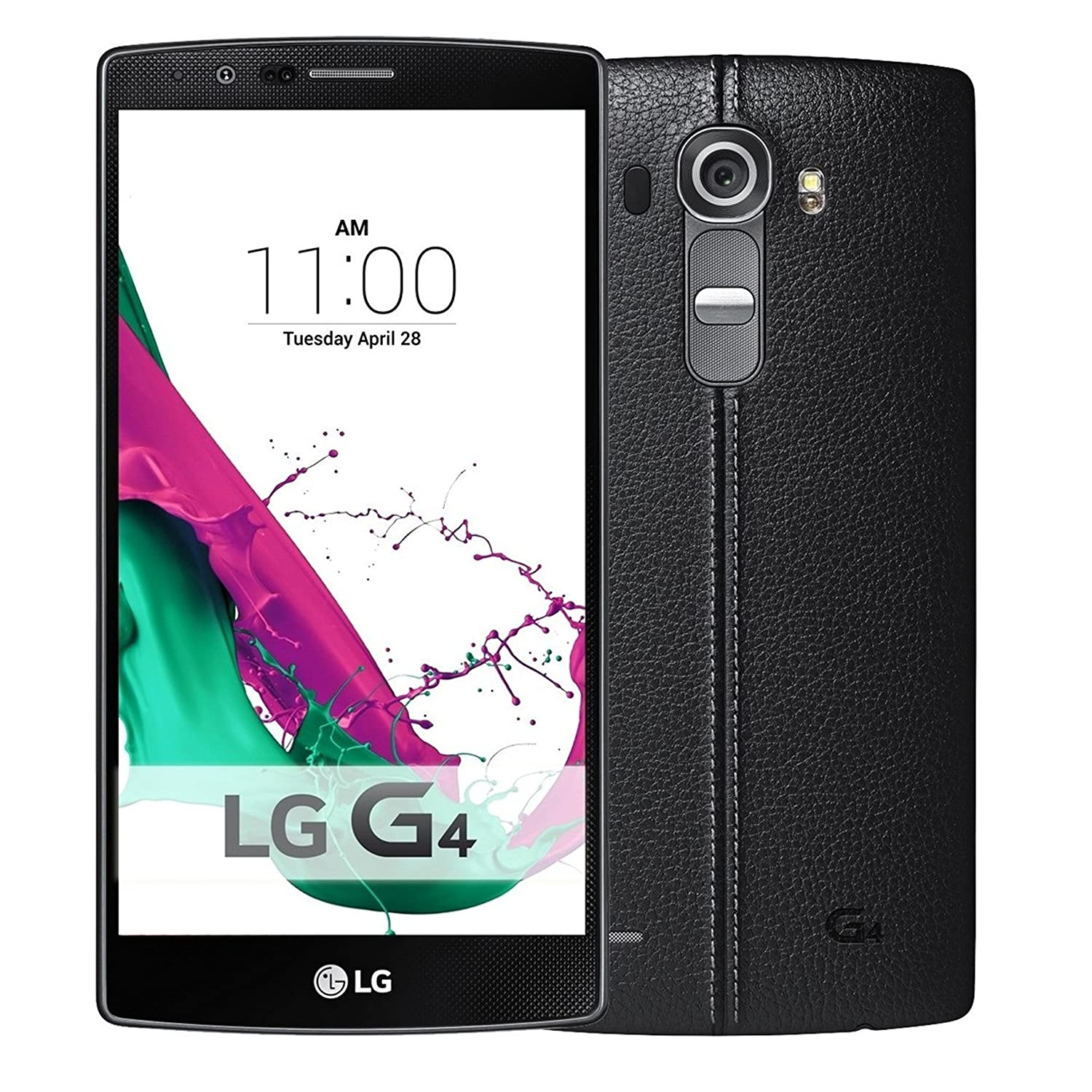 LG G4 US991LD 32GB Unlocked GSM Hexa-Core Android 5.1 Phone - Black Leather