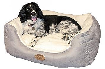 Banbury & Co - Lujoso sofá cama para perro, Medium