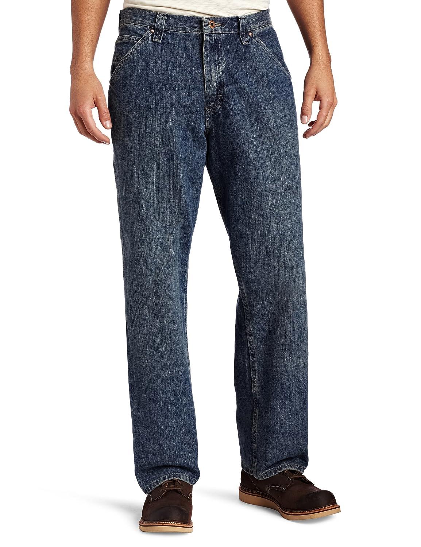 LEE Men's Dungarees Loose-Fit Carpenter Jean Lee Men' s Sportswear 28779