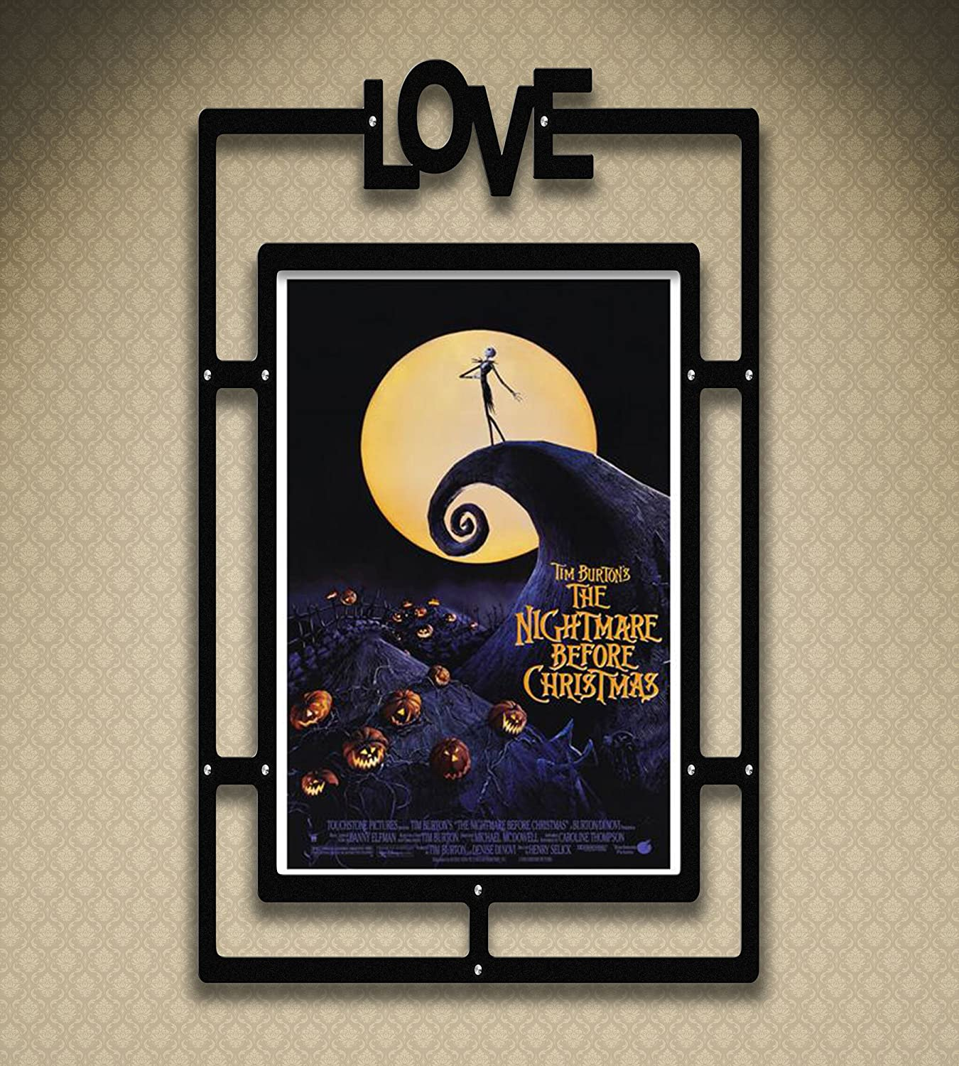 Amazon.com: 11x17 Poster Print Nightmare Before Christmas: Posters ...