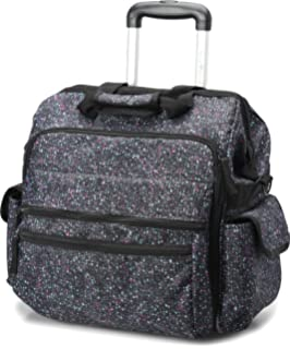 Nursing Bags On Wheels >> Amazon Com Hopkins Medical Rolling Med Bag With Ez View