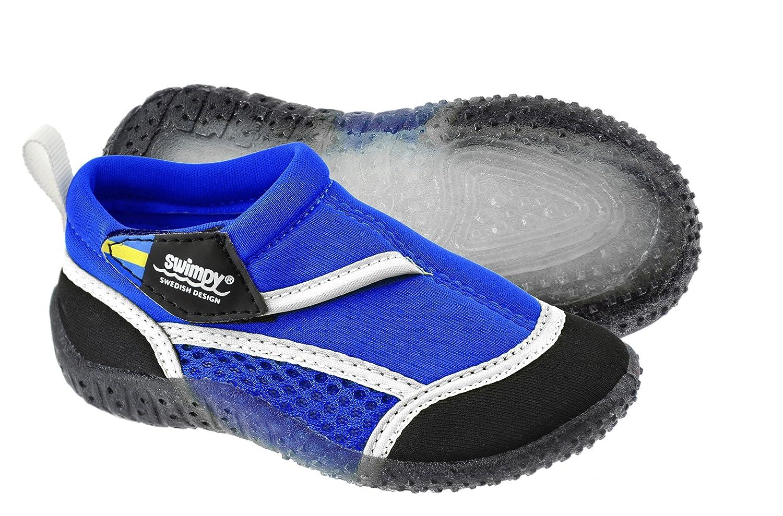 Swimpy®® Unisex-Kinder Aquaschuhe Strandschuhe Badeschuhe Schwimmschuhe aus Neopren und Mesh Sohle aus TPR Sowie 100% UV-Schutz⭐️⭐️⭐️